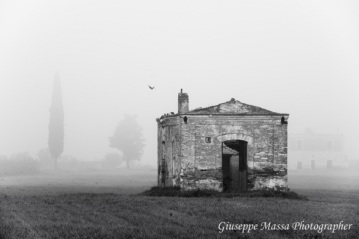 Cottage in the mist...