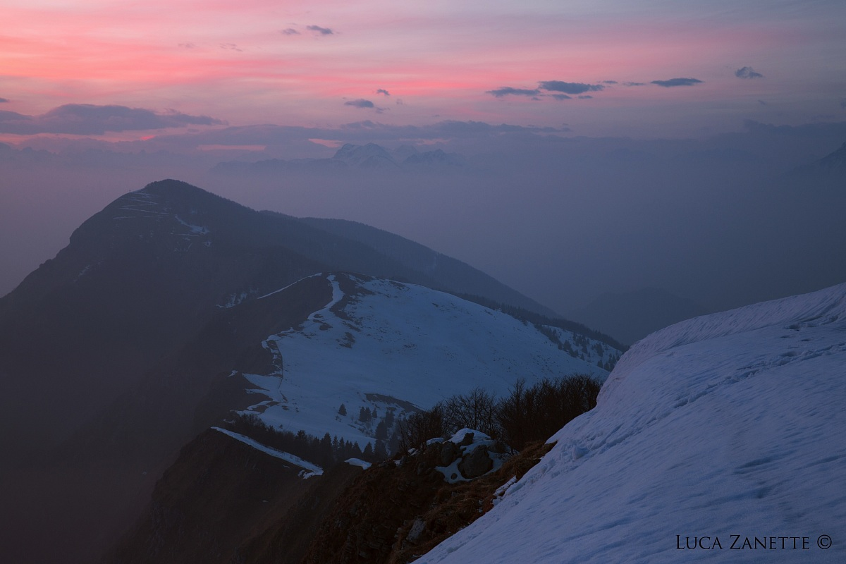 Sunset from Mount Cuar...