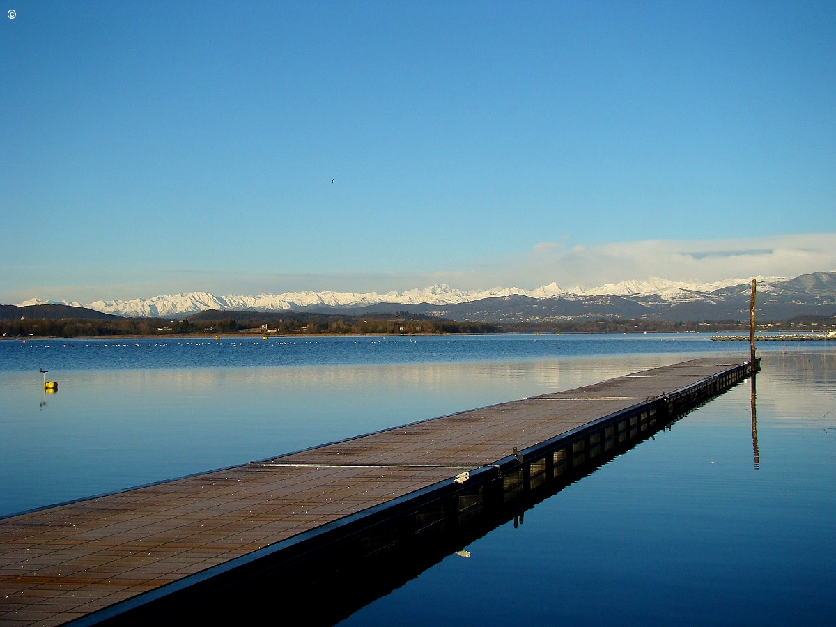 Yet another pier - Lake Varese...