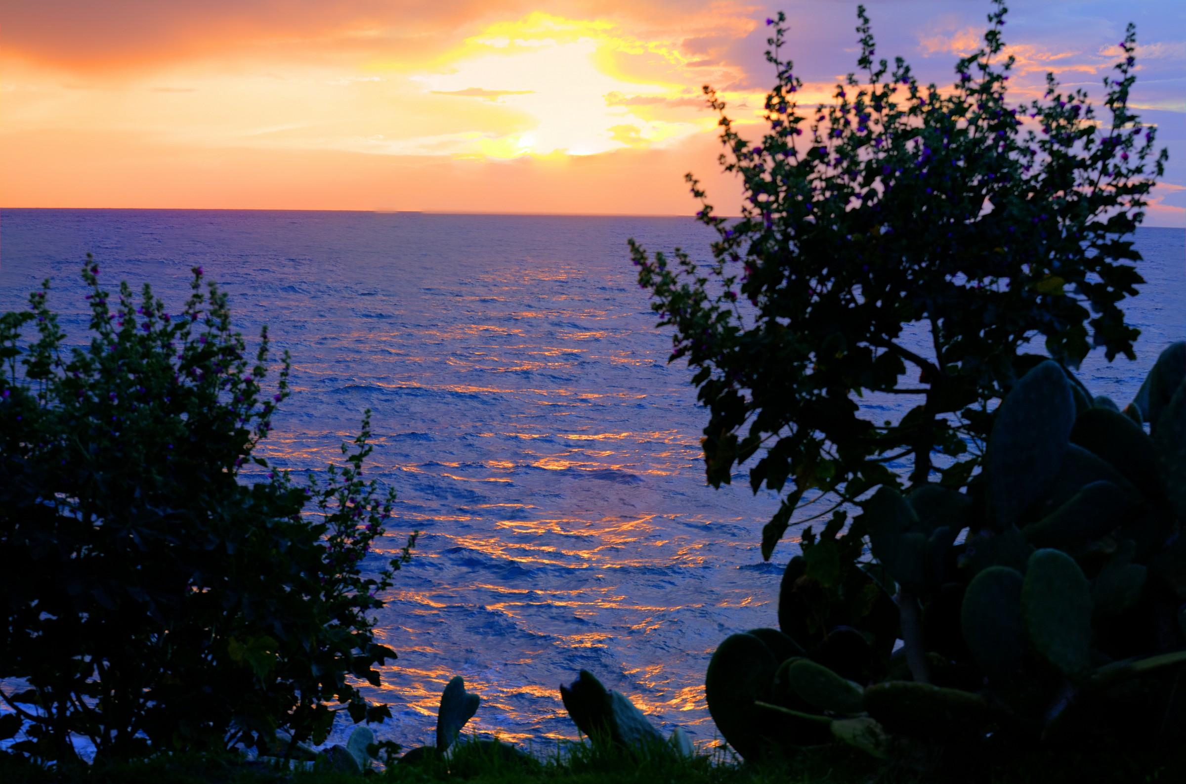 sunset in san gregorio 3...