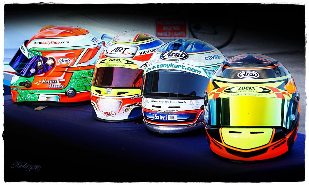 WSK helmets...
