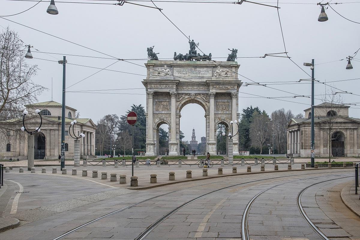 Arco della Pace...