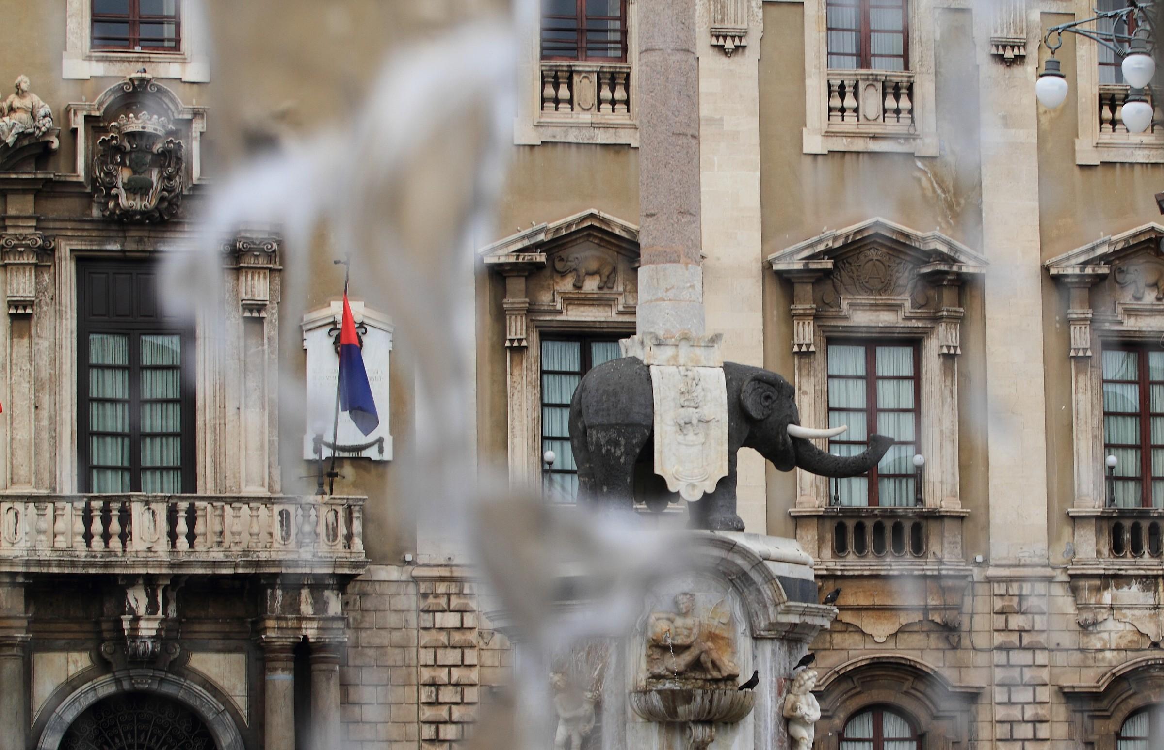 The symbol of Catania...