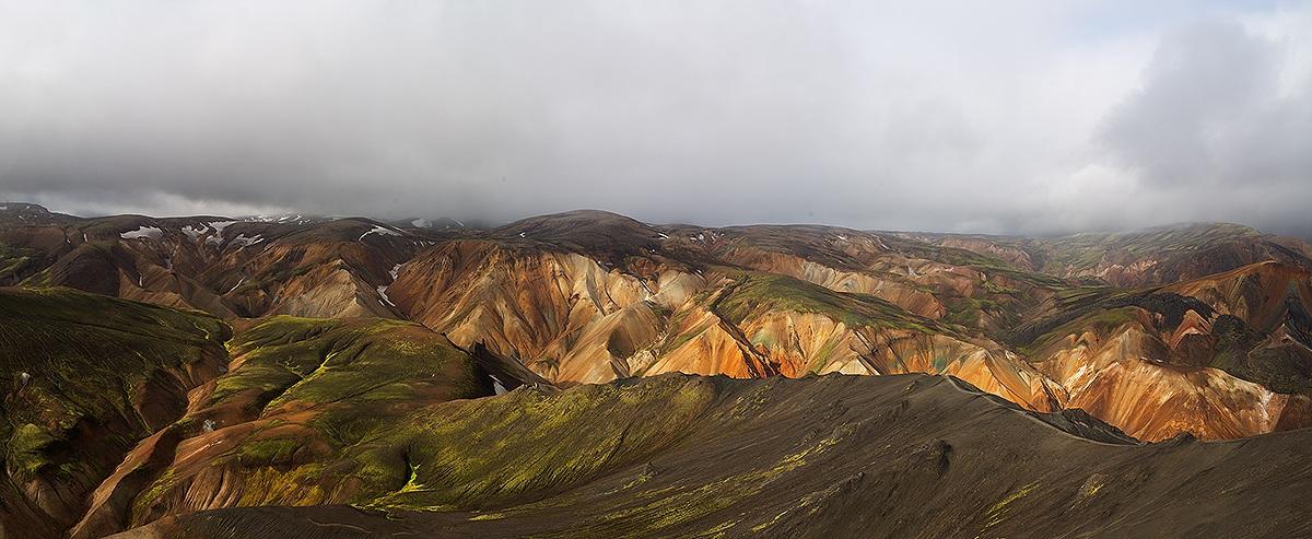 Landmannalaugar dal monte Bláhnúkur...