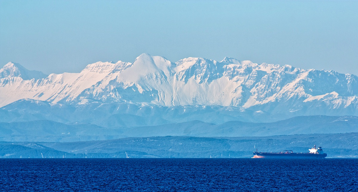 Look Alps from Salvore...