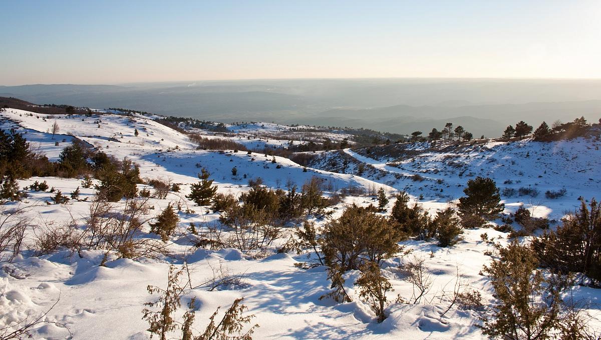 Snow 2013 - Natural Park Ucka...