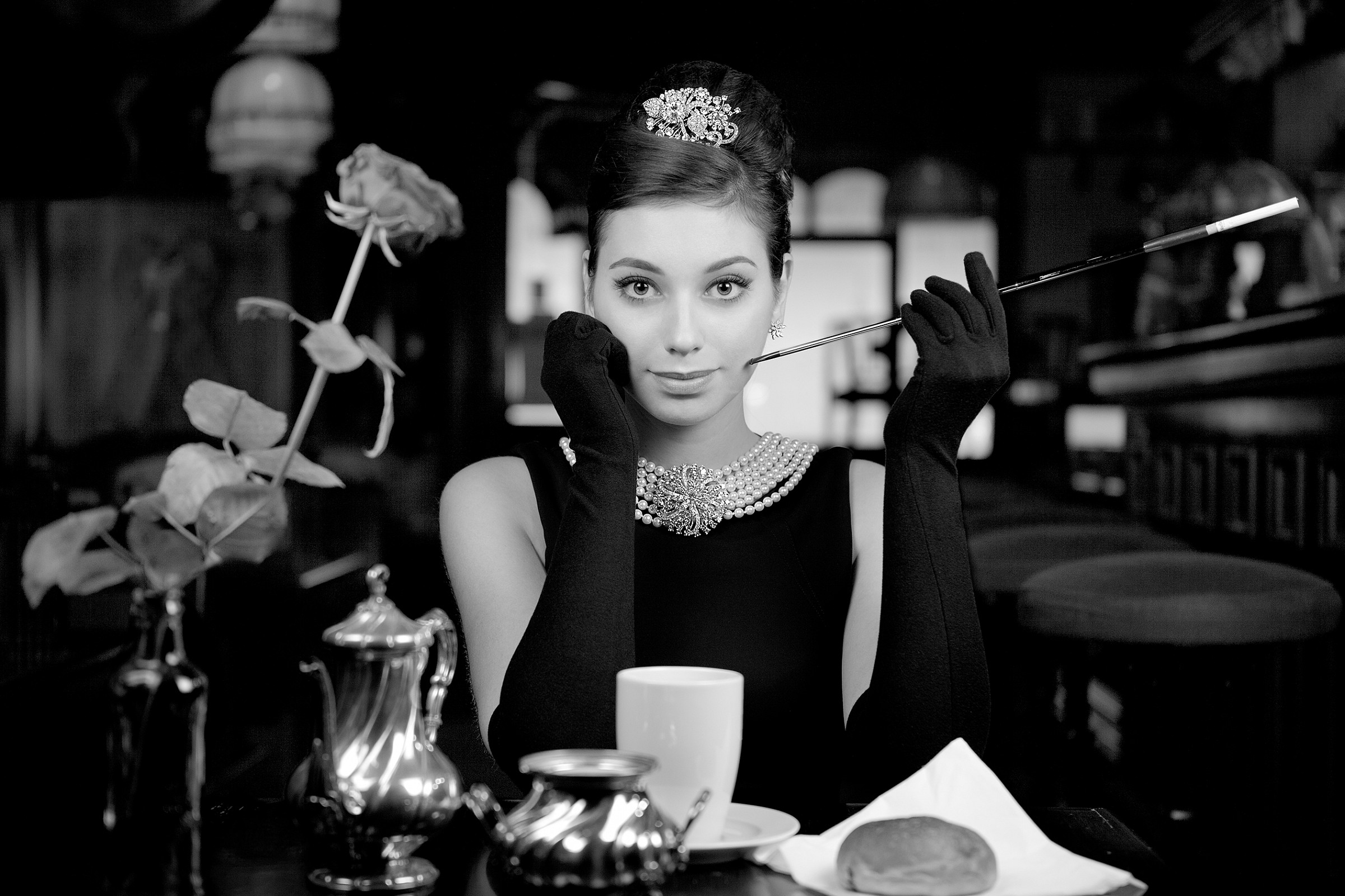 Breakfast with Audrey...