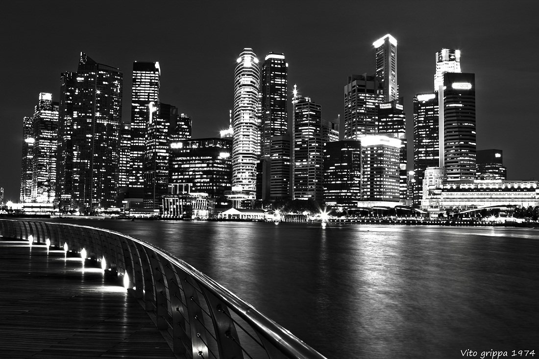By Nigth Singapore ......
