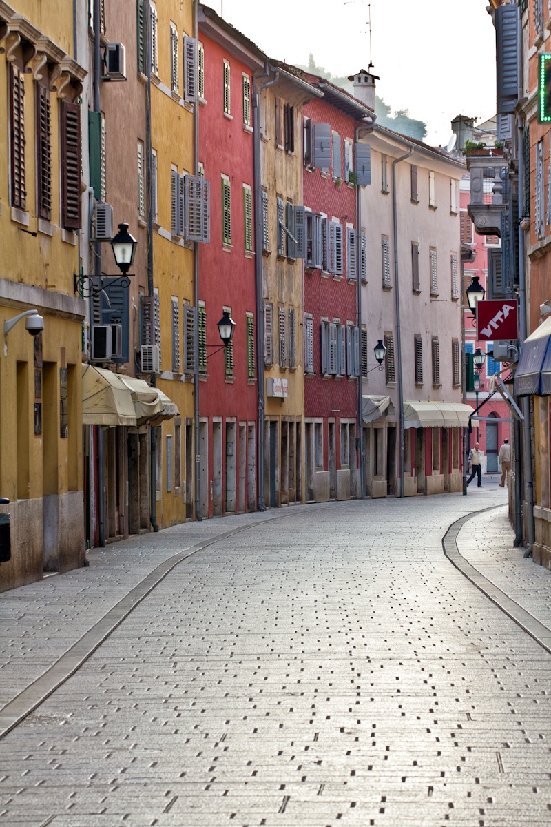 In the streets of Rovinj...