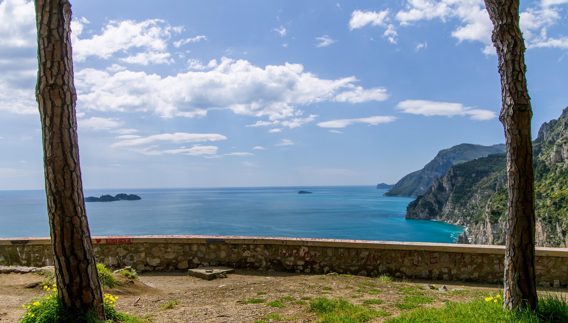 Costiera amalfitana, versante penisola sorrentina...
