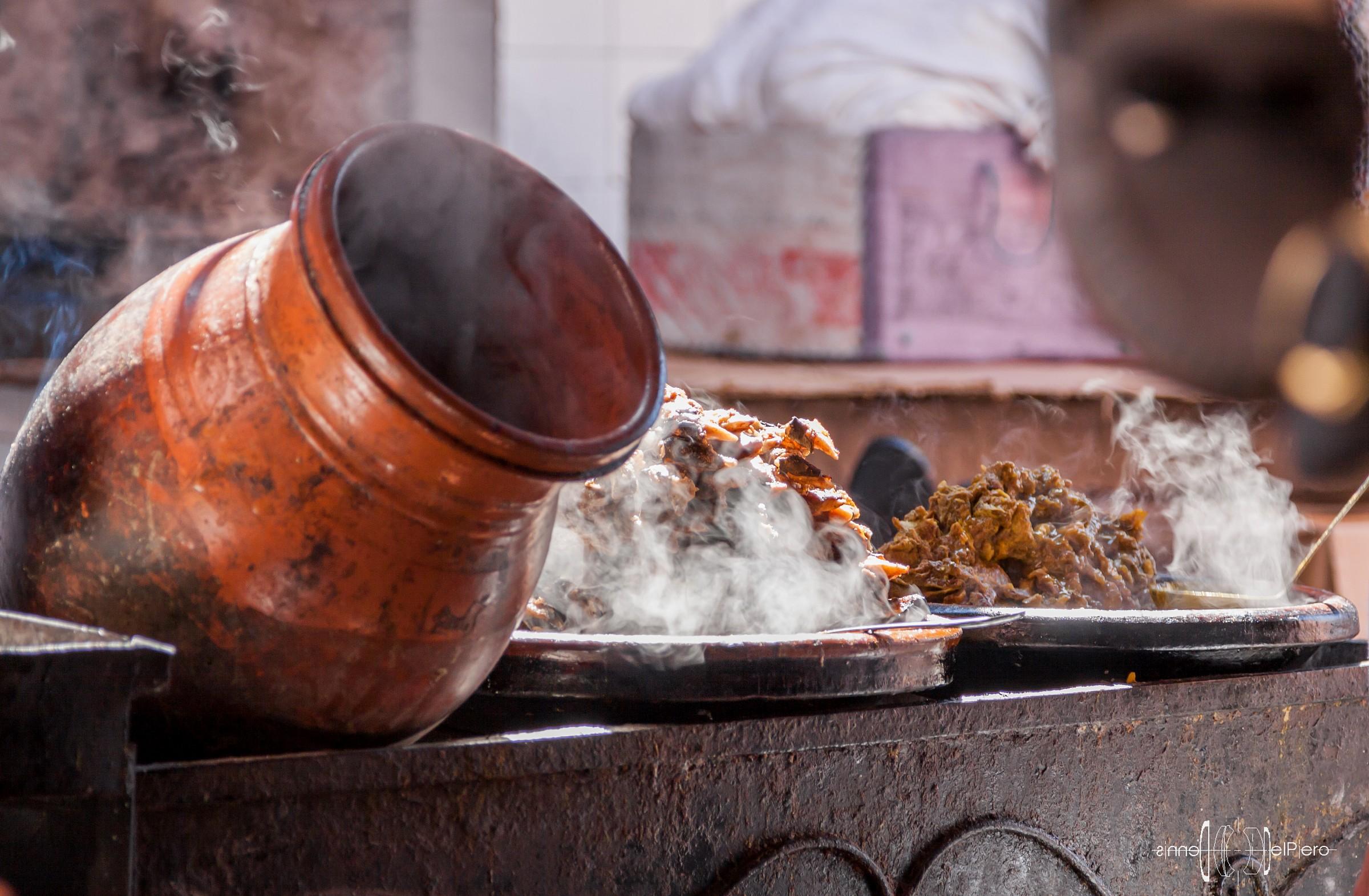 Marrakech - Cibo di strada...