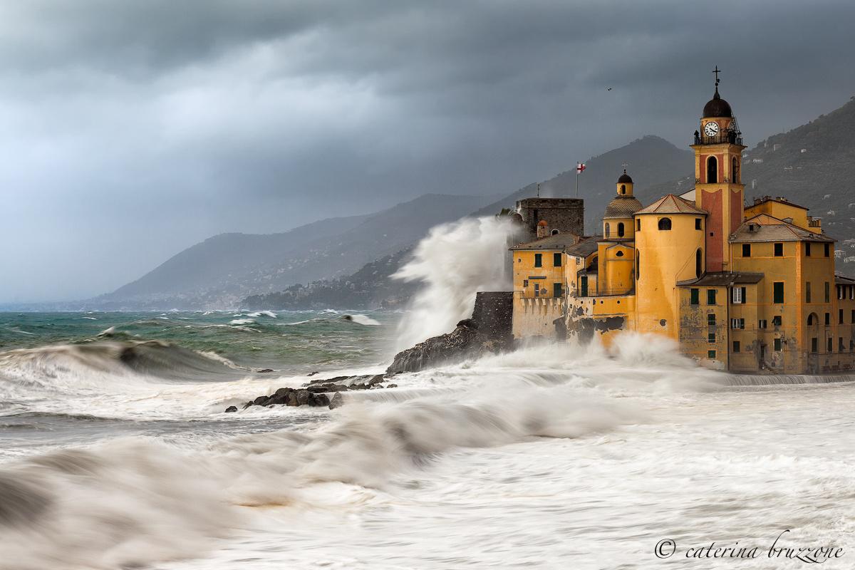 Storm in Camogli...