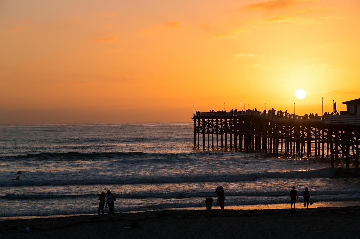 Sunset in San Diego...