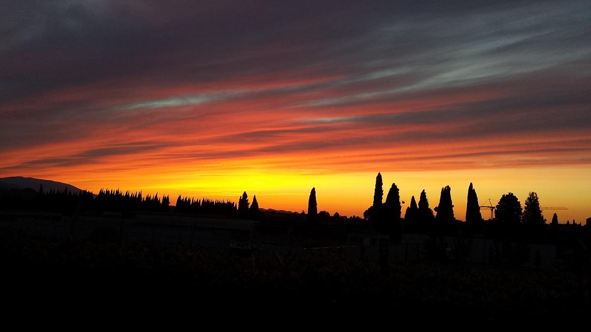 L'alba di un giorno nuovo...