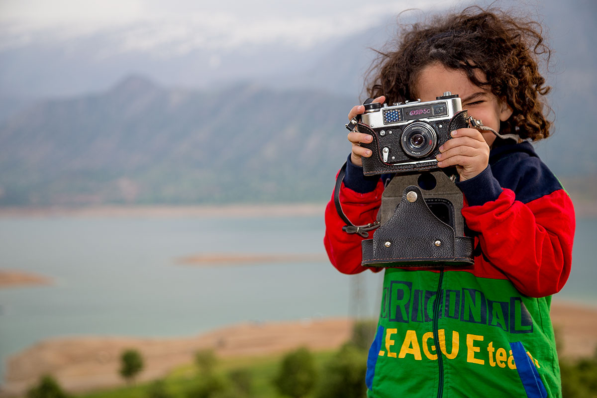 my new Photographer by my old camera!...