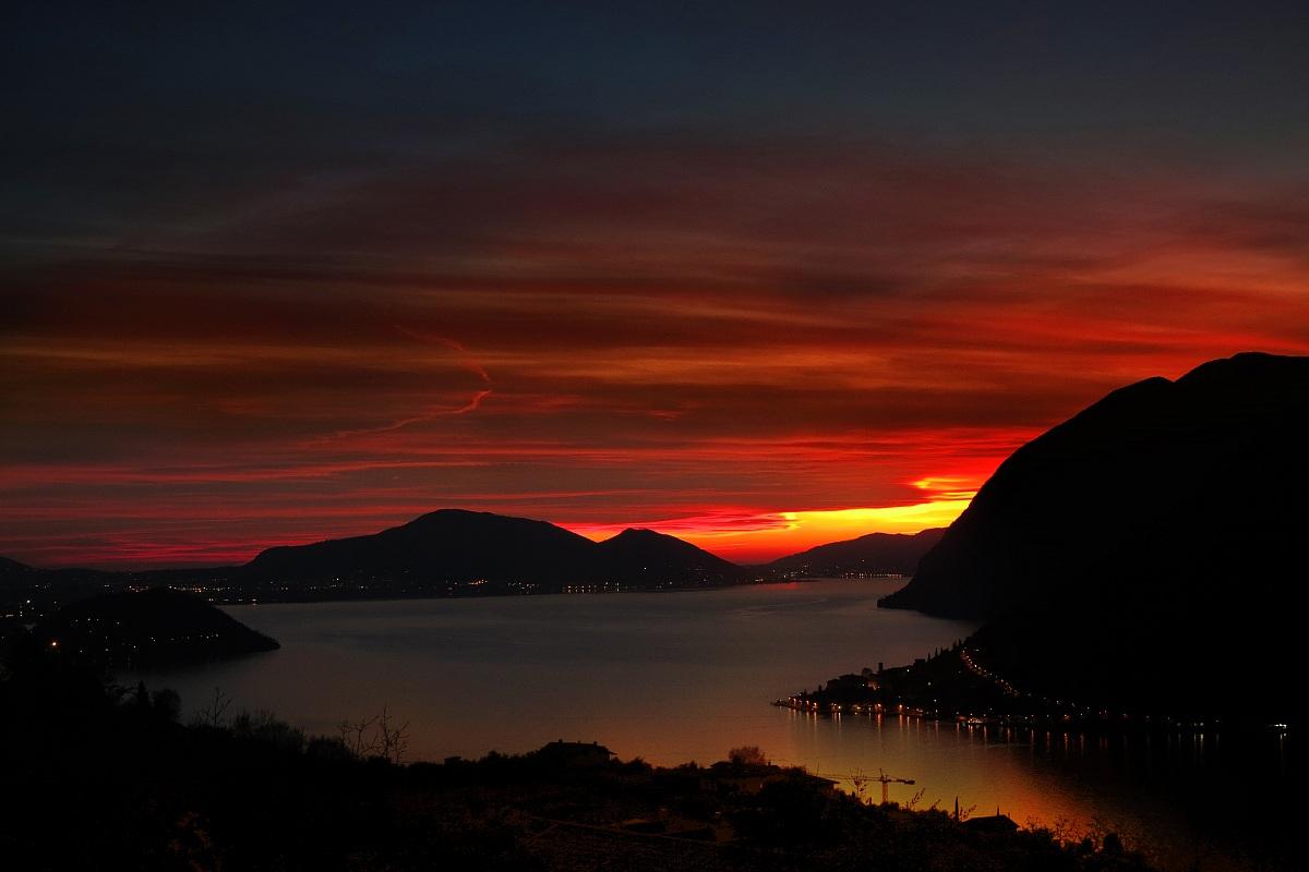 Sunset Iseo...