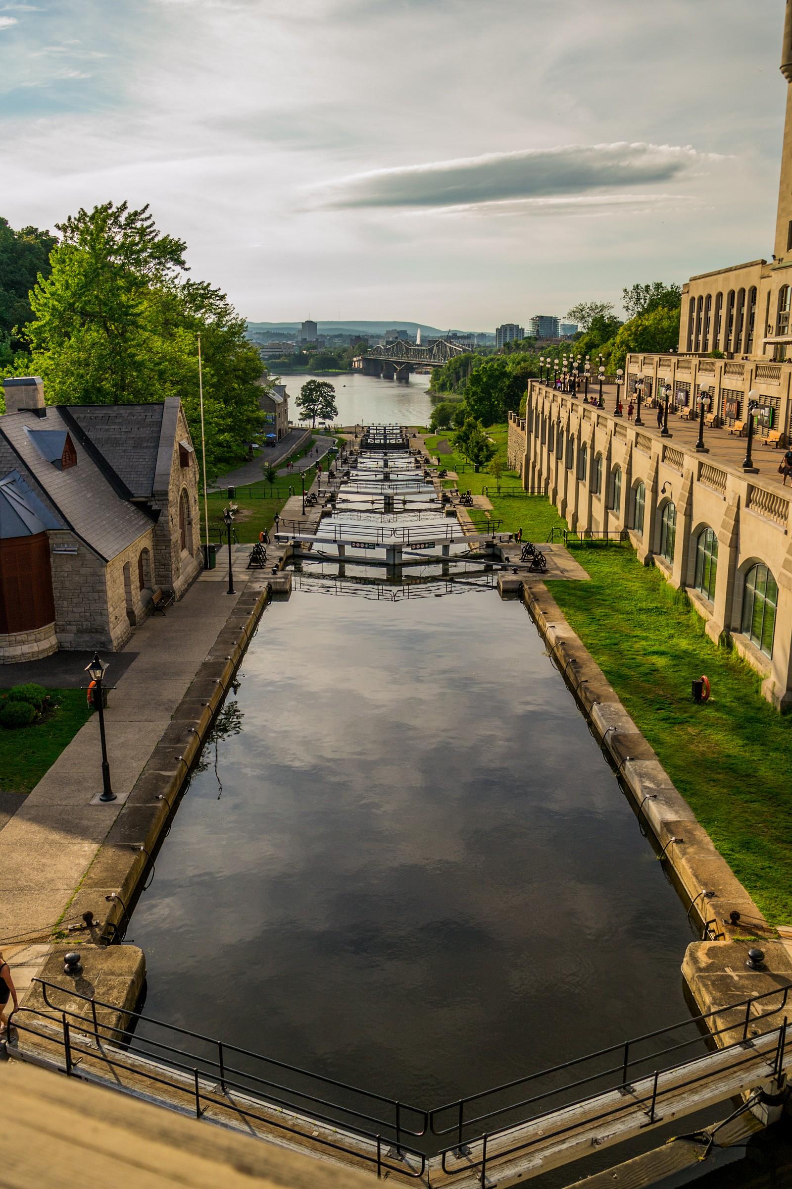 Rideau Canal...