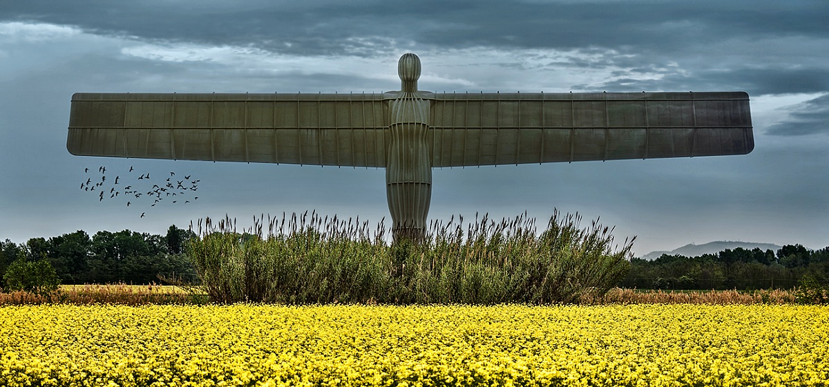 The Angel of the North...