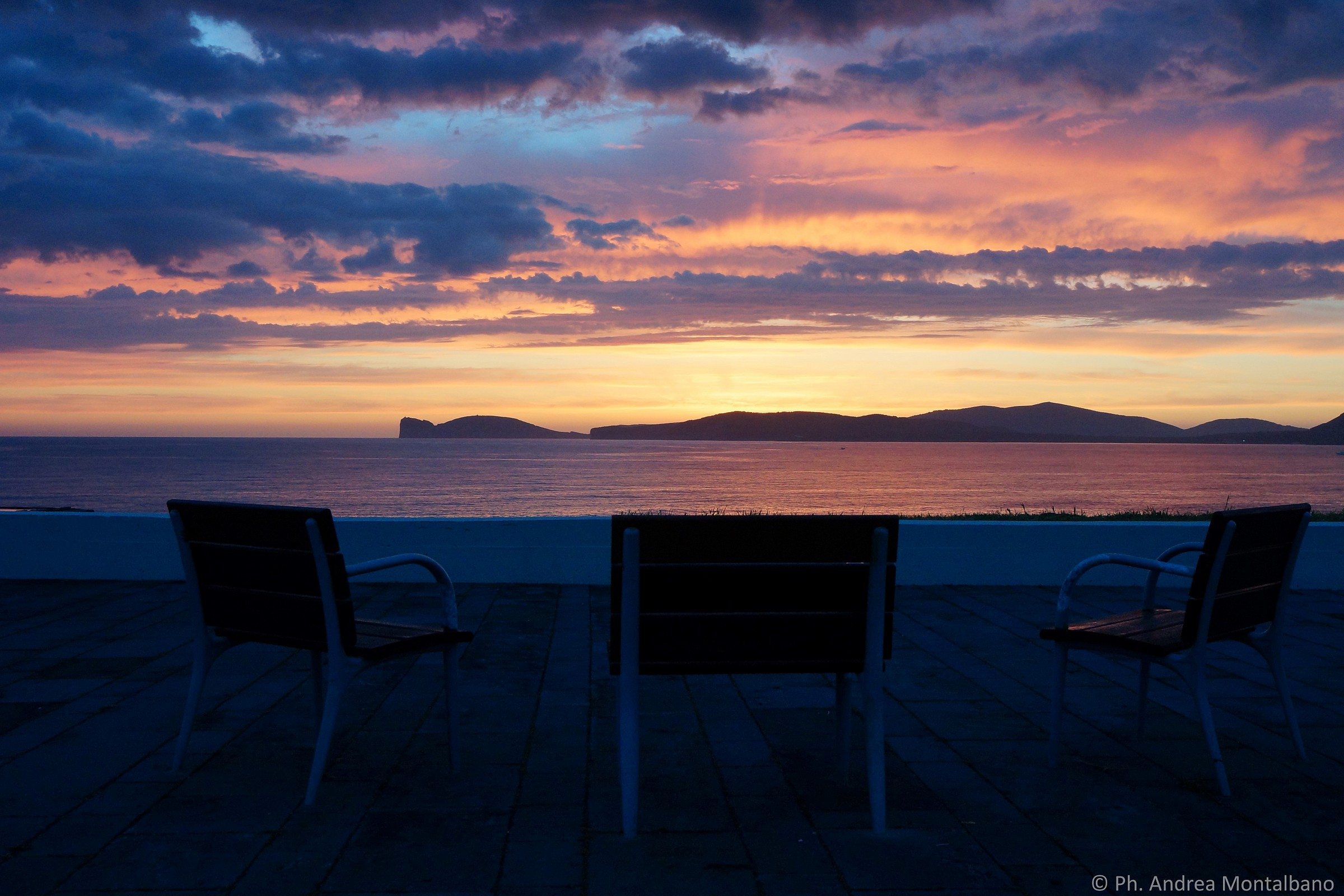 Sunset in Alghero...