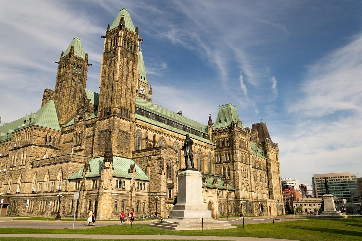 Palace of Parliament, Ottawa...