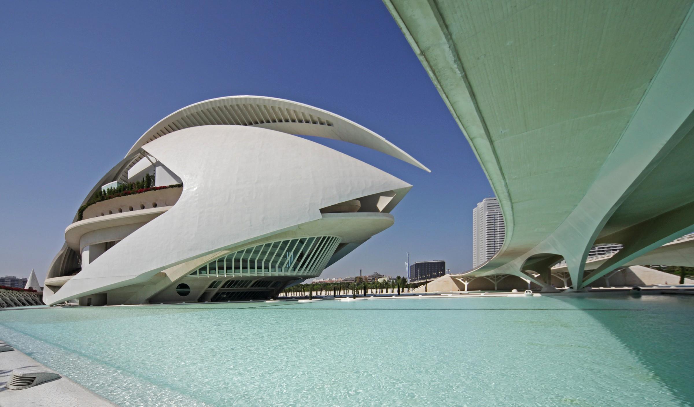 Valencia City of Arts and Sciences...