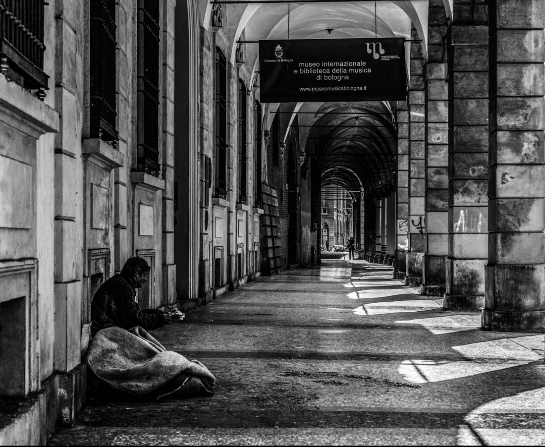 Street at Bologna...