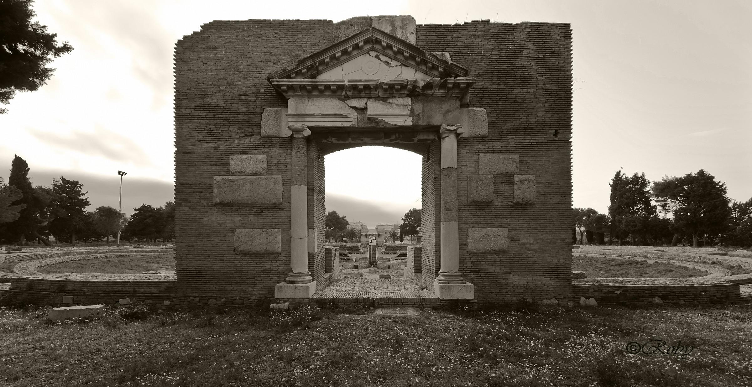 Roman Amphitheatre...