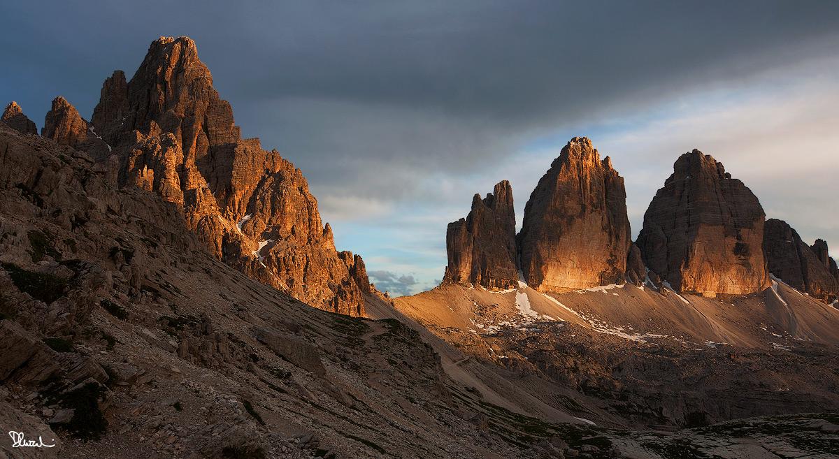 Monte Paterno e Tre Cime di Lavaredo...