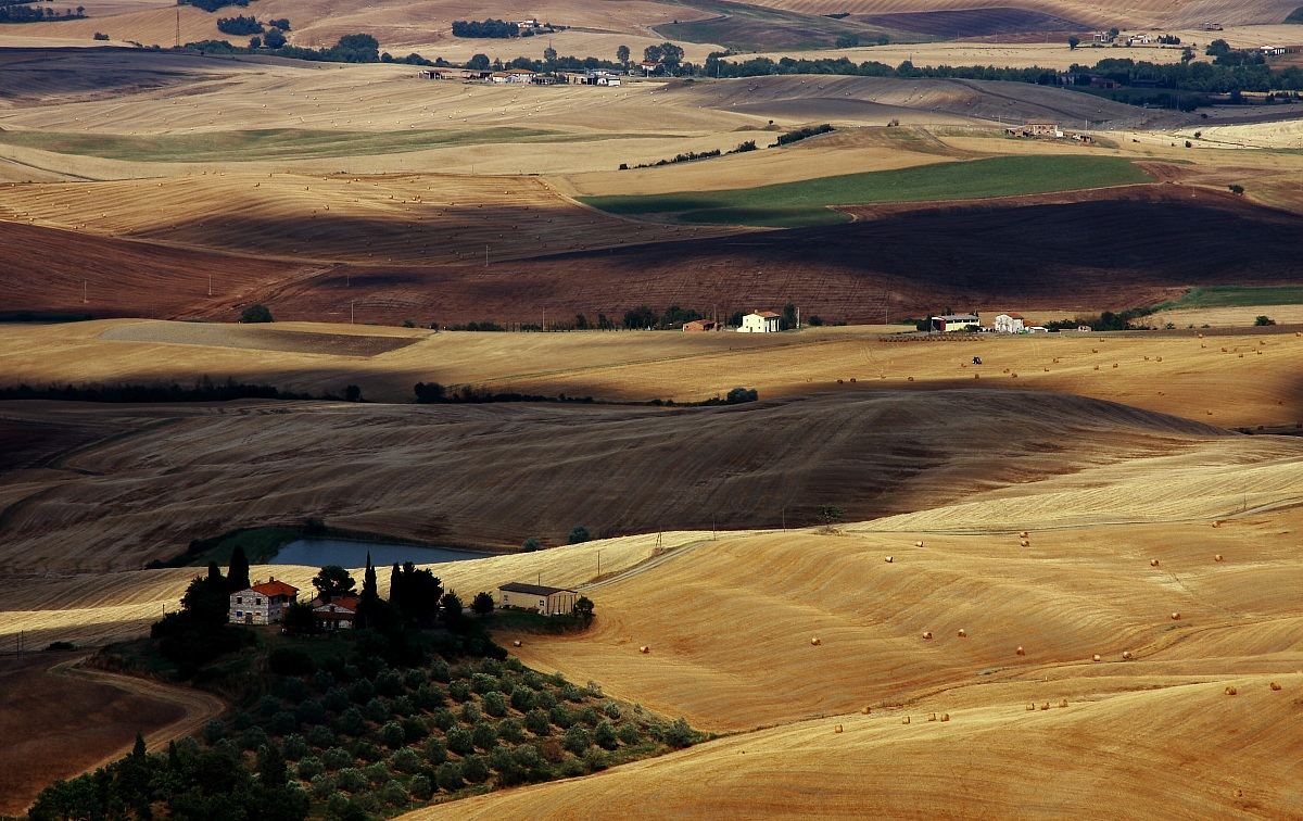 Lands of Siena...