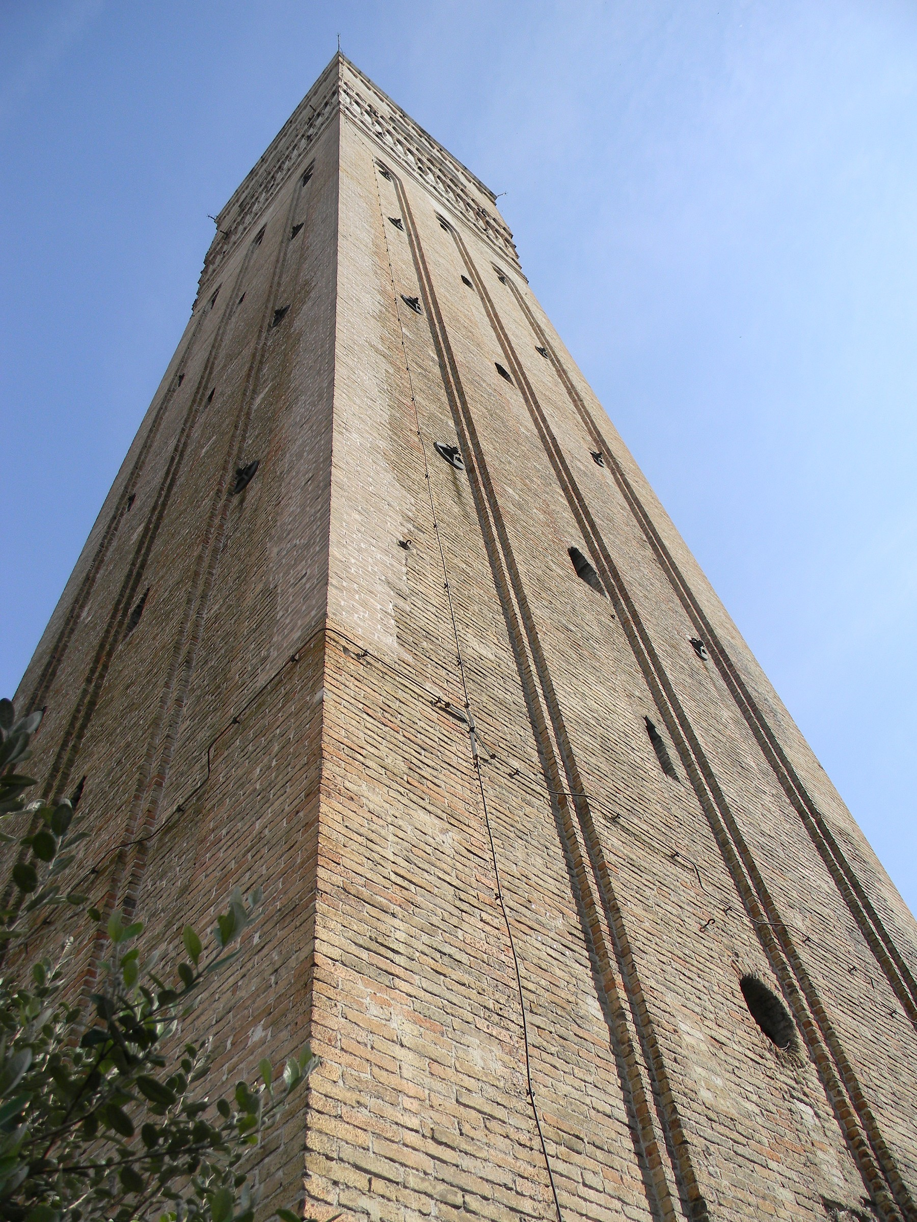 Cathedral bell tower Pordenone...