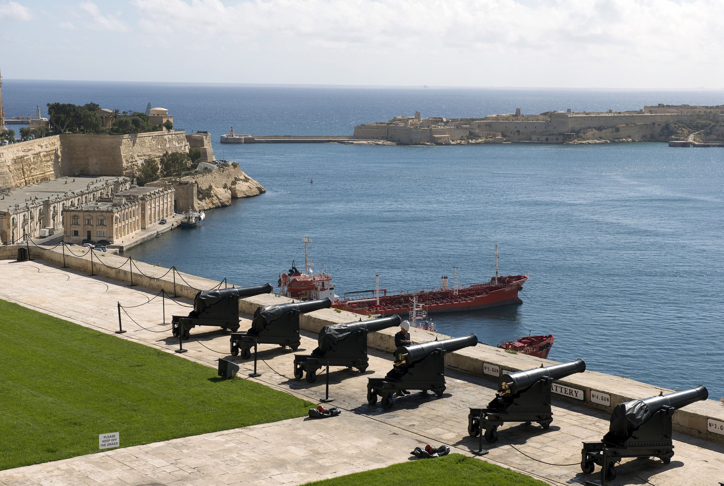 Ramparts of St. Peter and Paul - Valletta...