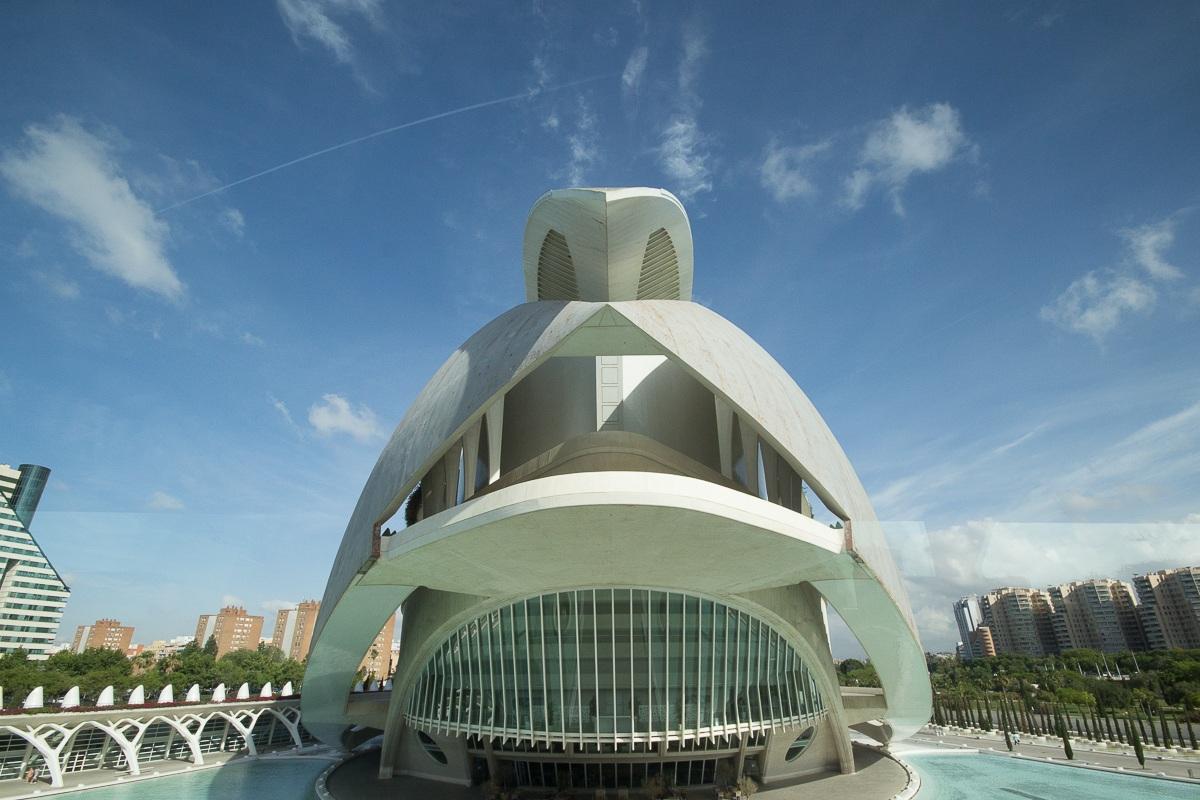 Calatrava, La Città delle Arti e delle Scienze...