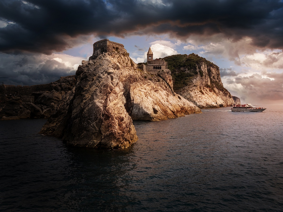 portovenere (from the sea)...