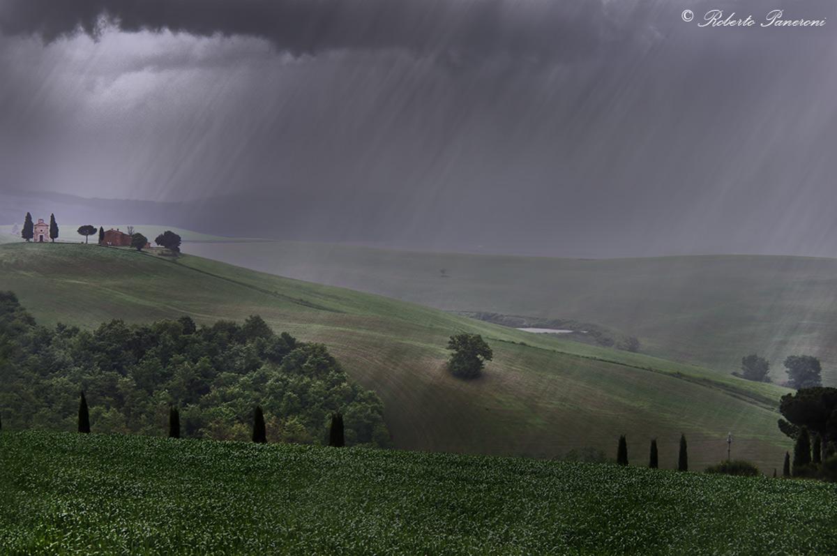 Vitaleta under the rain...