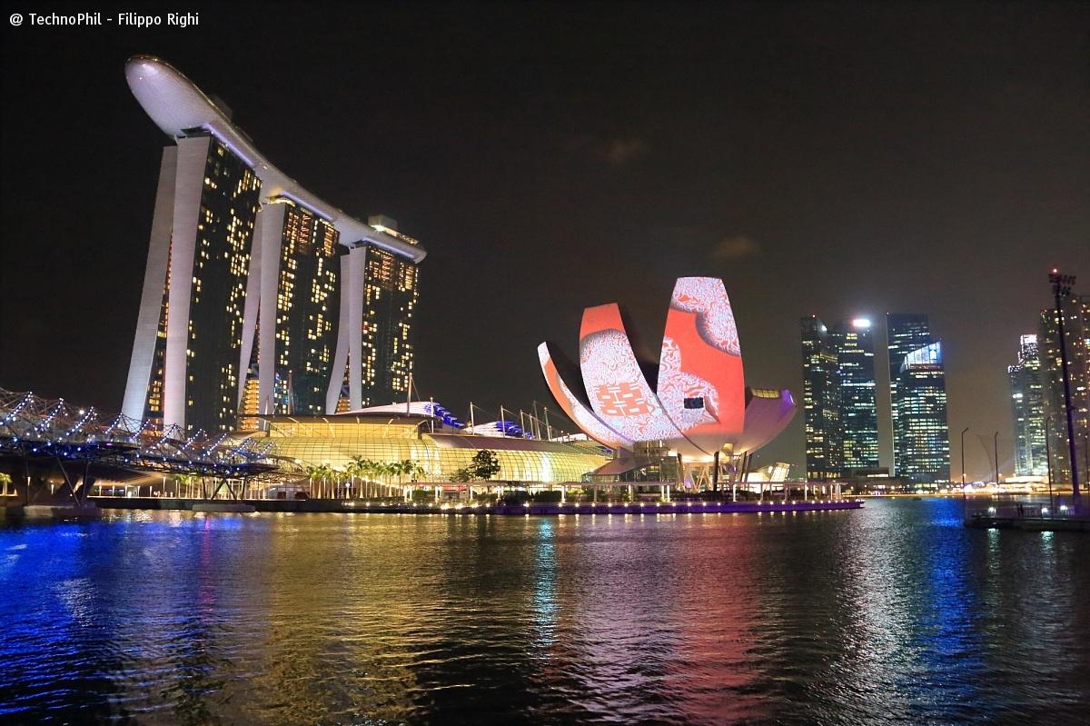 Singapore nightscape...