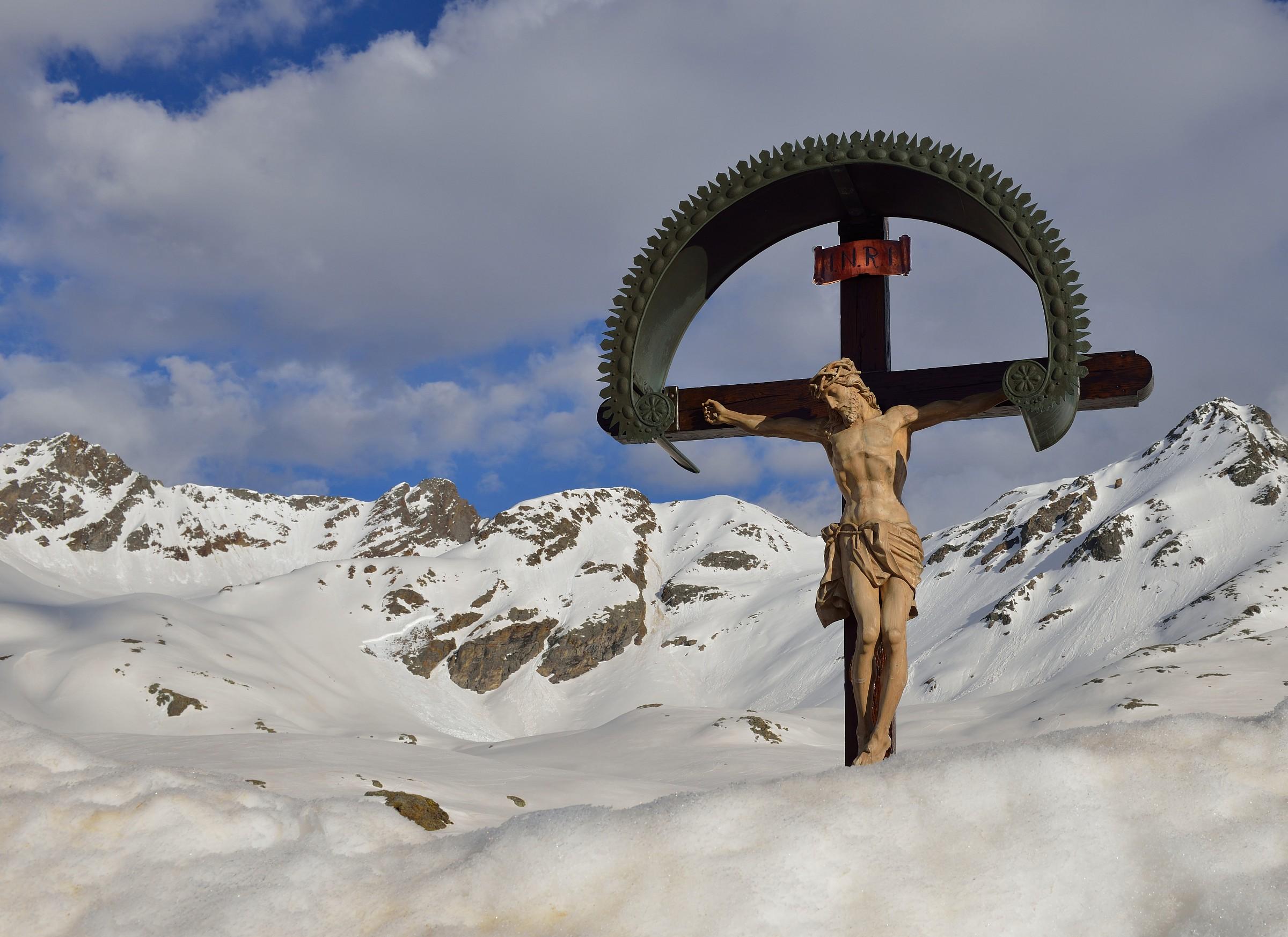 Crucified Passo Gavia...