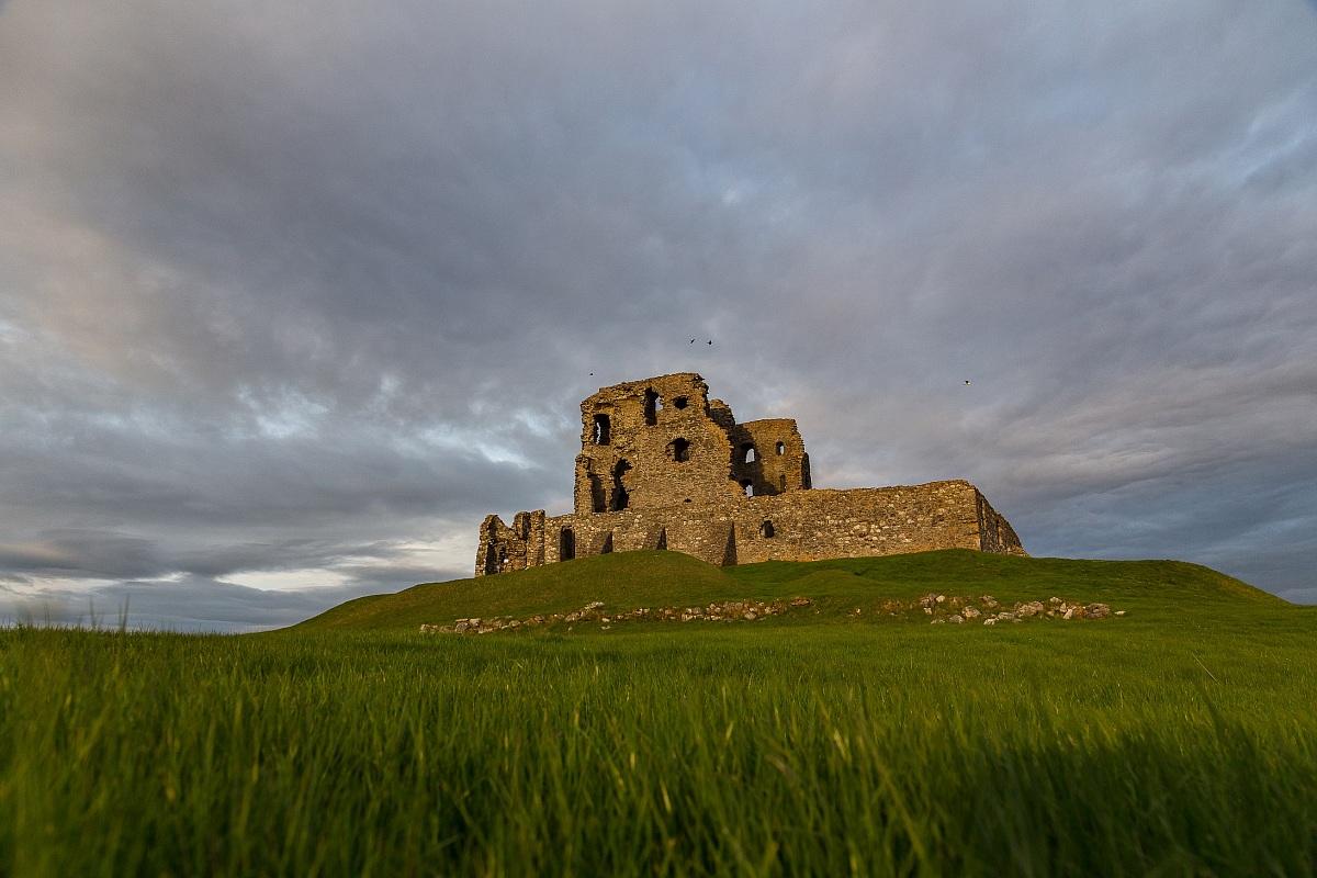 Auchindoun Castle...