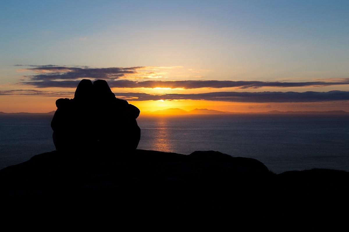 Aspettando il tramonto...