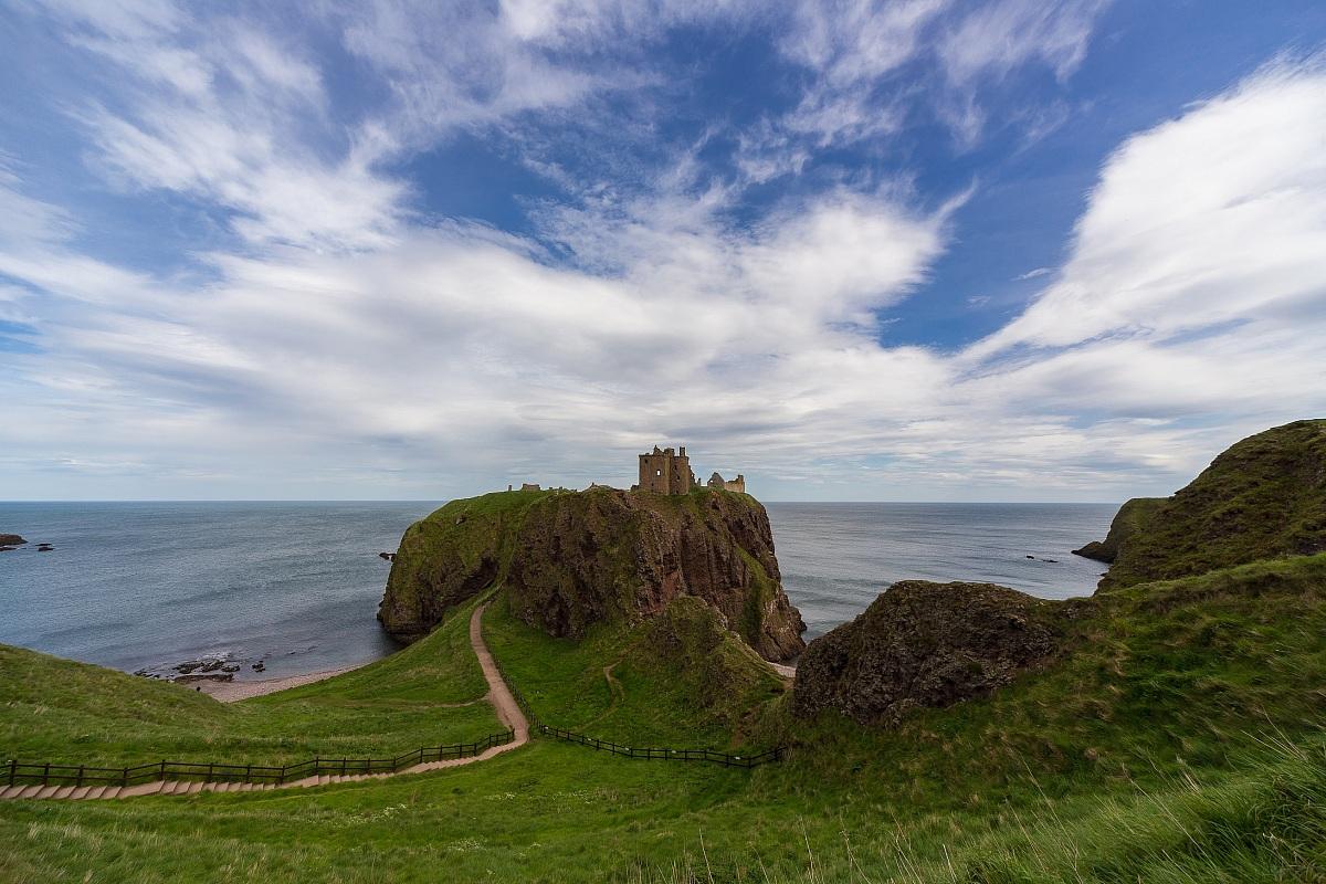 L'inespugnabile Dunnottar Castle...