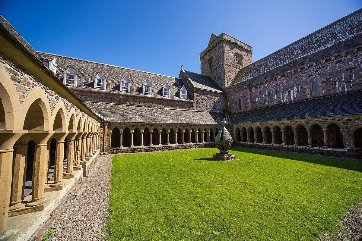 L'abbazia di Iona...