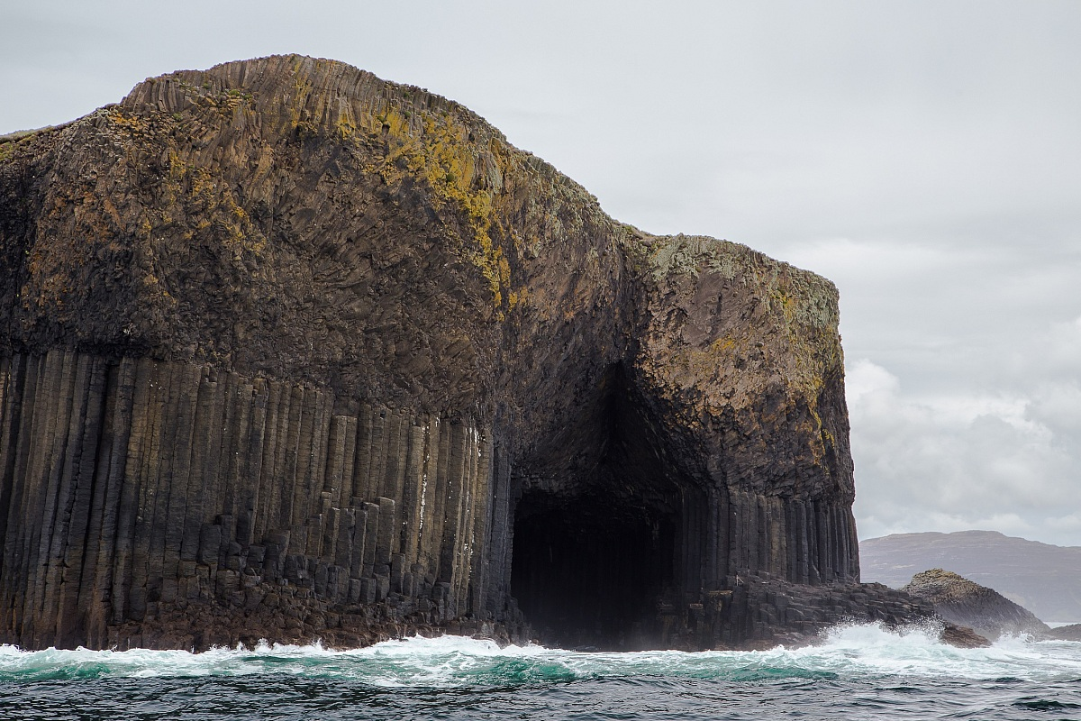 Staffa and the Fingal's cave...