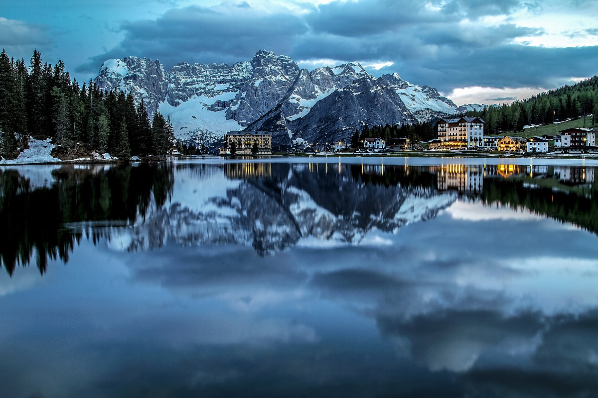 Lake Misurina...