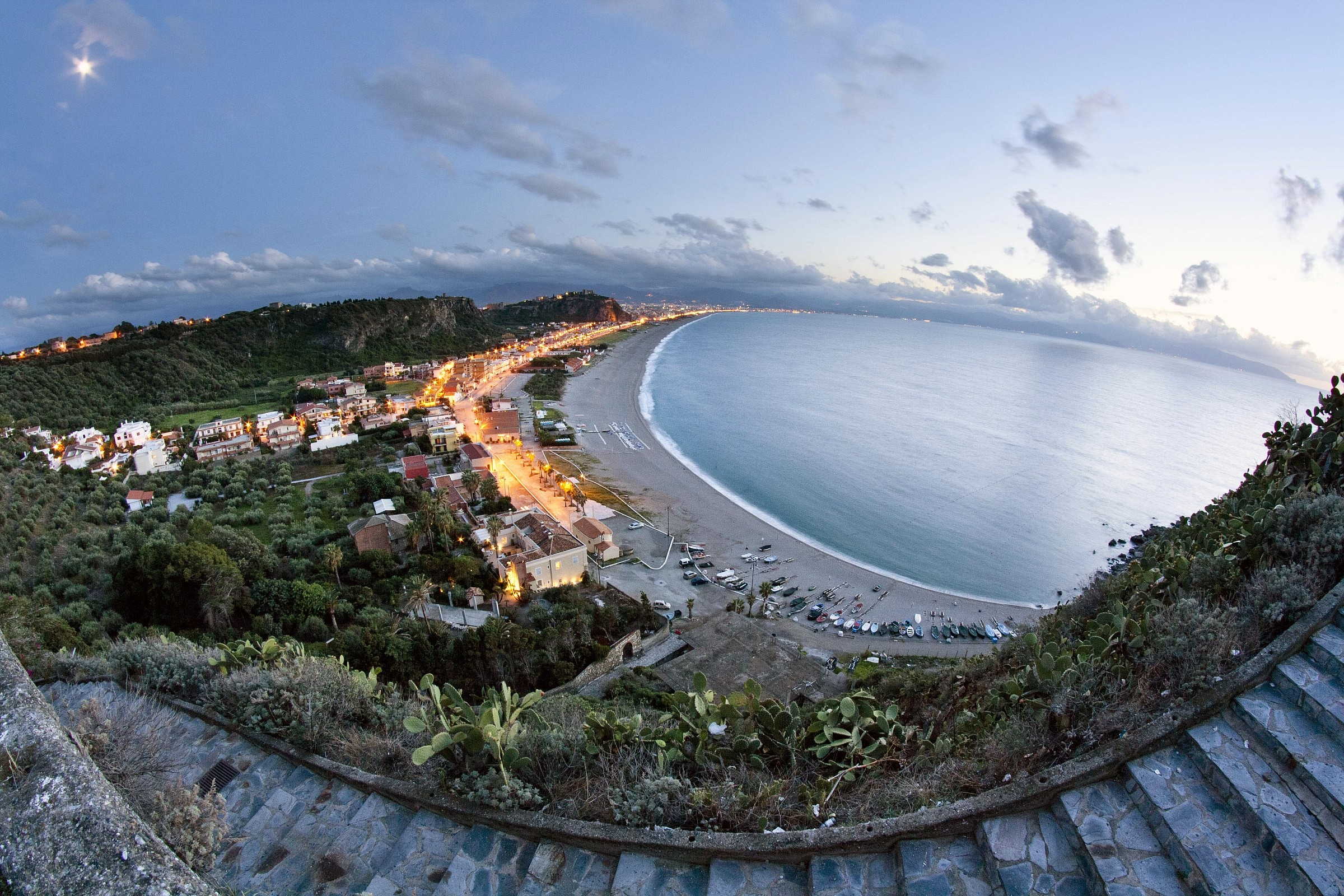 View of Milazzo - West Beach...