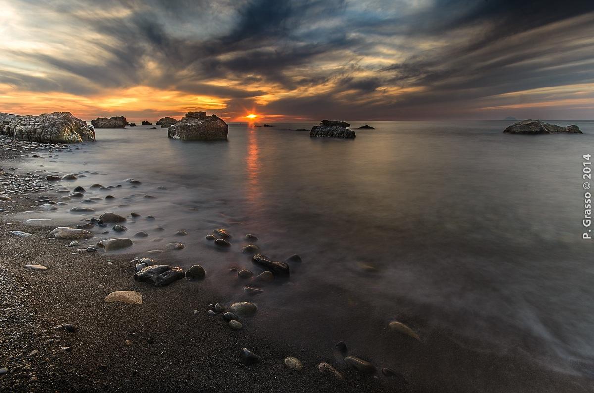 la magia del tramonto...