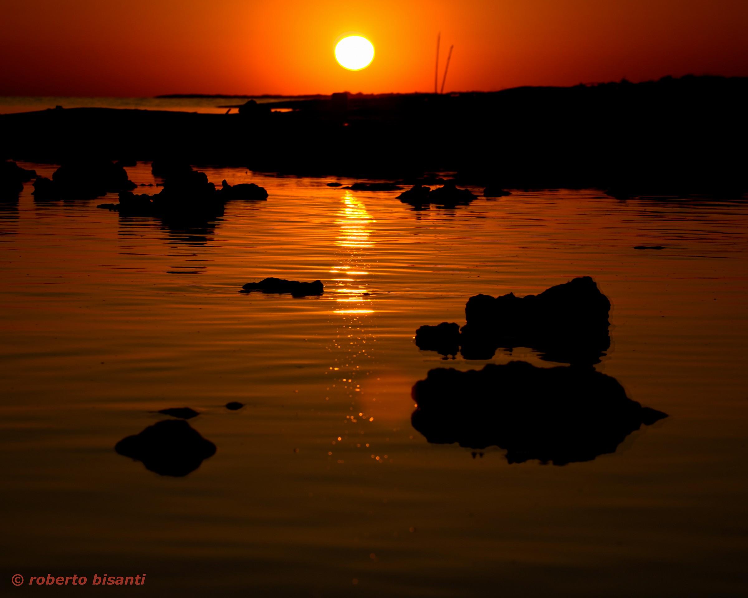 sunset on pescoluse - prejudice (the)...