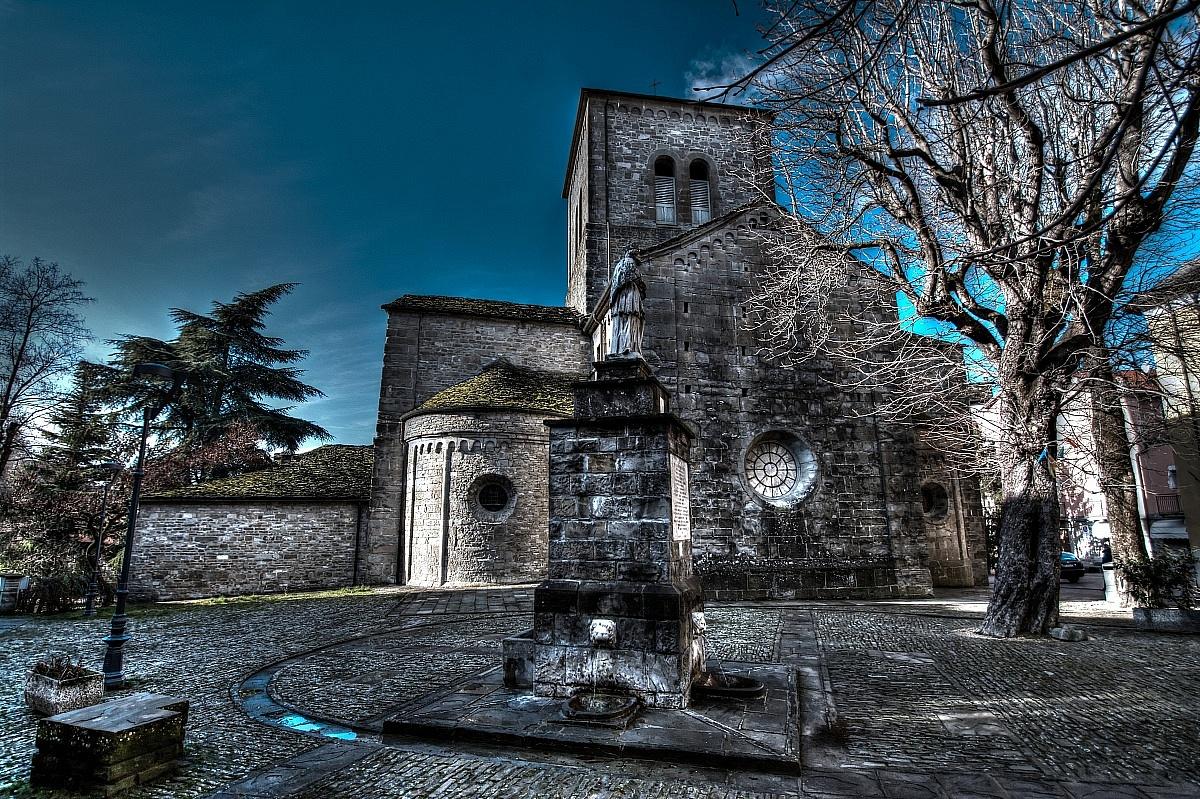 Il Duomo di Berceto...