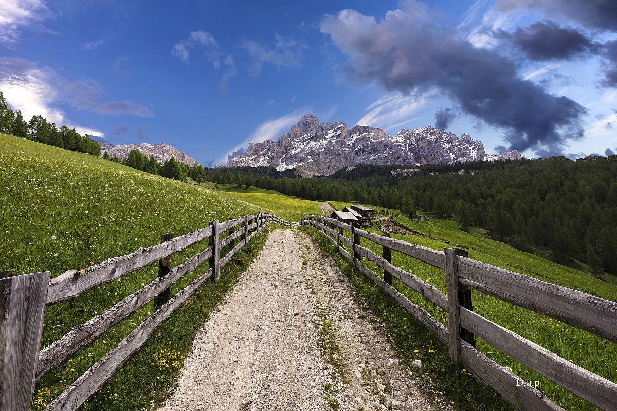 Highway to the Dolomites...