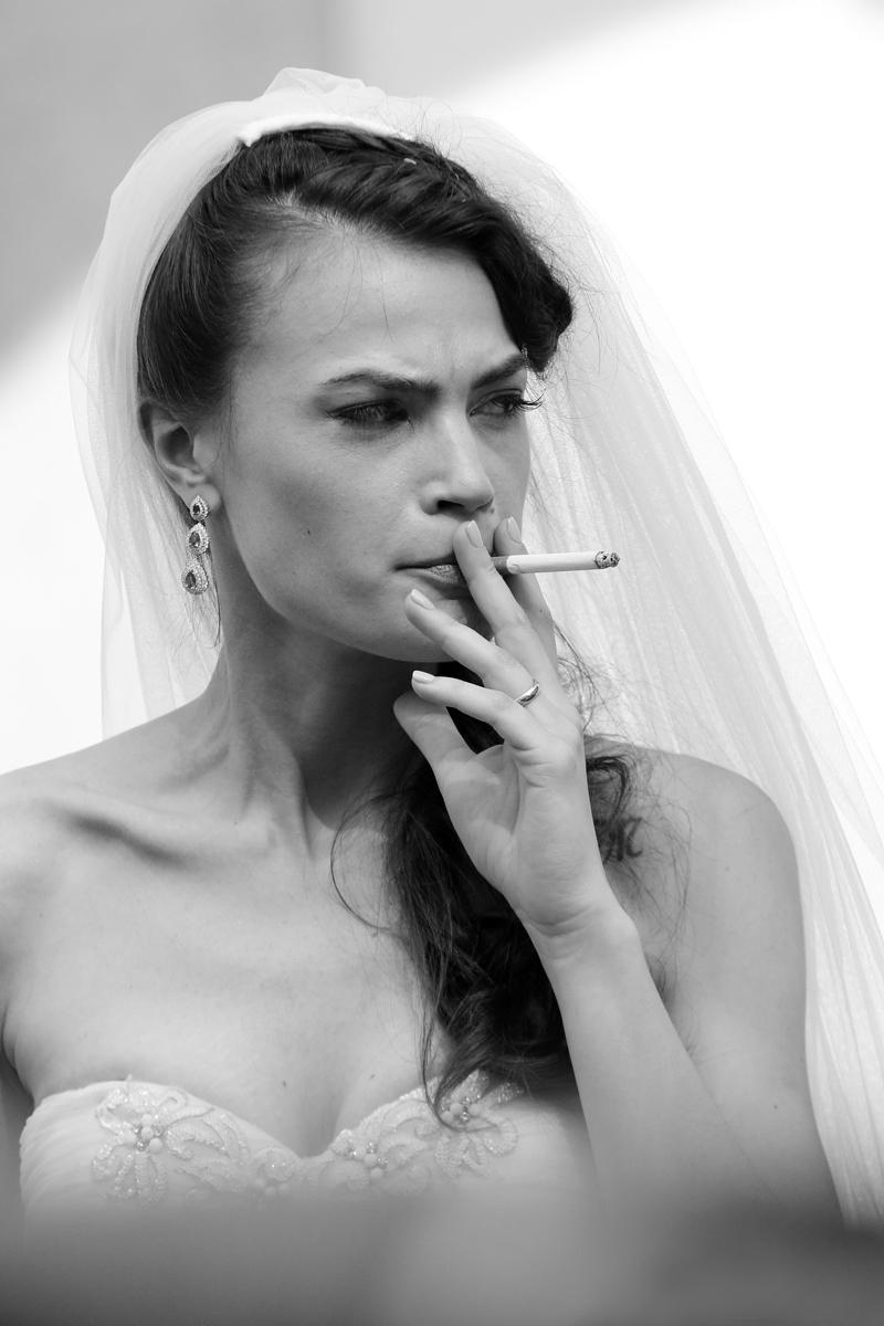 Non disturbare la sposa...