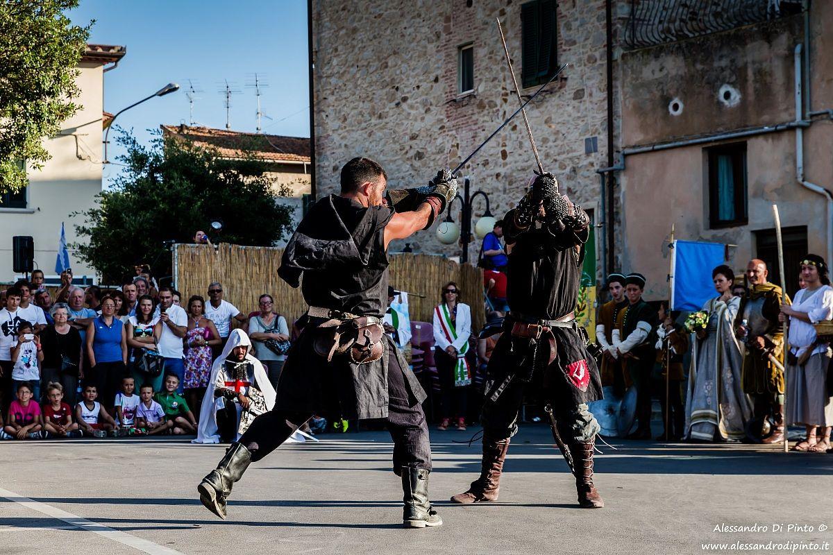 Combattimento medievale...
