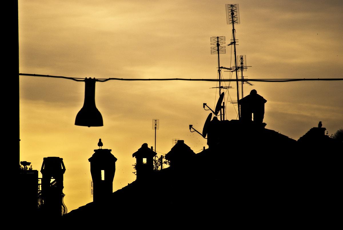 Rome-Trastevere rooftops...